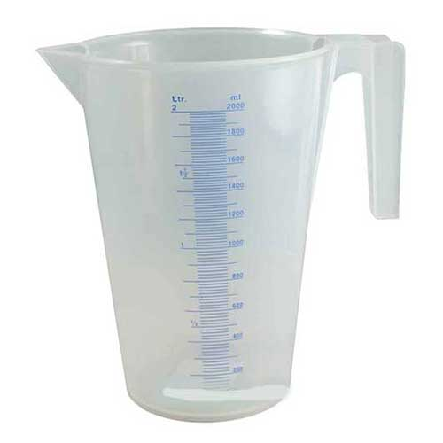 plastic 1 litre milk jug