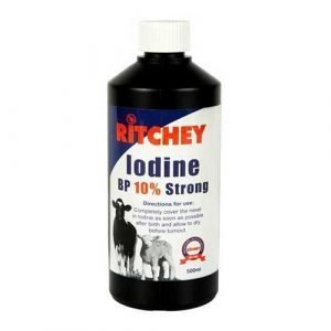 Iodine Spray 10% Trigger Spray 500ml