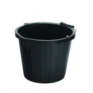 Black Bucket - 9 litre